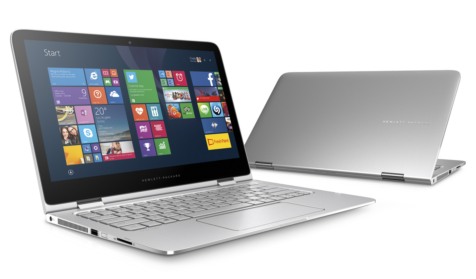 HP – Spectre x360 13″Touch-Screen Laptop – Intel Core i7 – 8GB ...