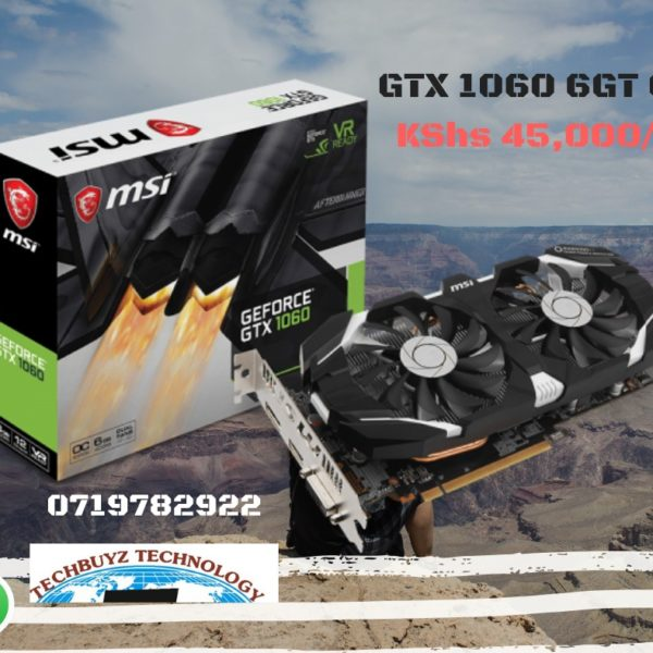 MSI GAMING GeForce GTX 1060 6GB GDRR5 Graphics Card